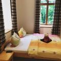 Penzión Astoria Ľubochňa VIP izba prízemie posteľ