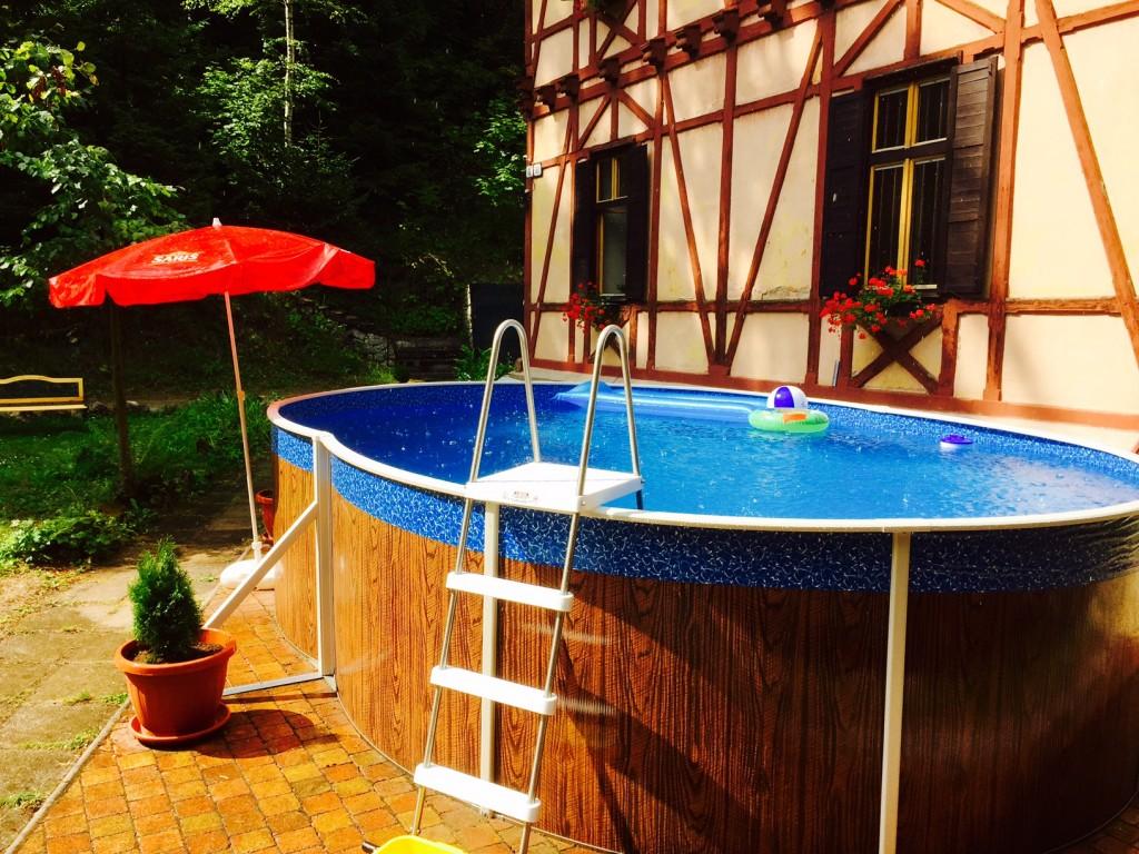 Vyhrievaný bazén
