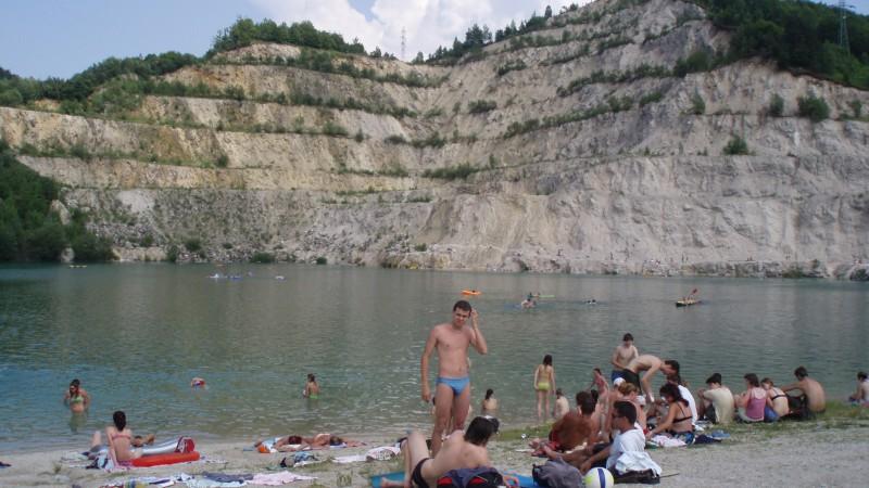 Kameňolom Rieka – prírodné kúpalisko